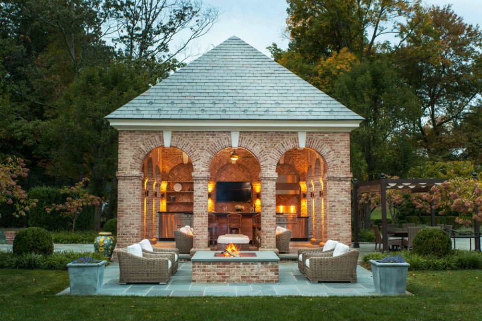 Douglas VanderHorn Architects backyard pavilion ideas