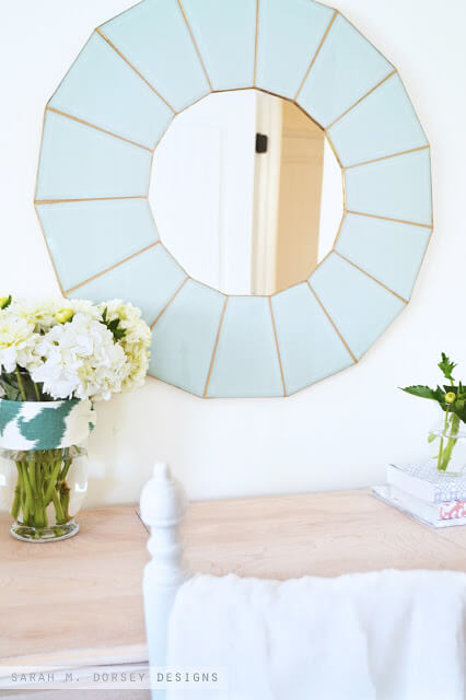 Glass pane mirror | Best Entryway Mirror Decor Ideas