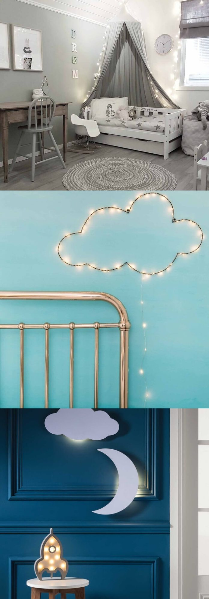 Kids' Bedroom | Best Fairy Light Decoration Ideas