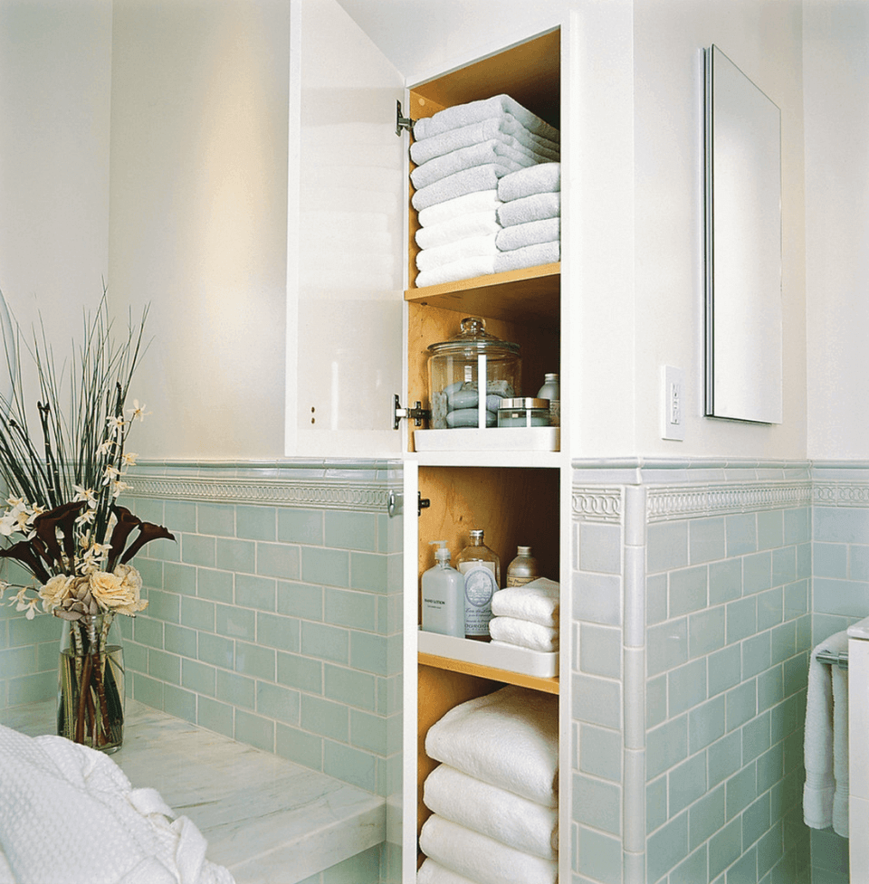 Small cabinet | Best Small Bathroom Storage Designs & Ideas