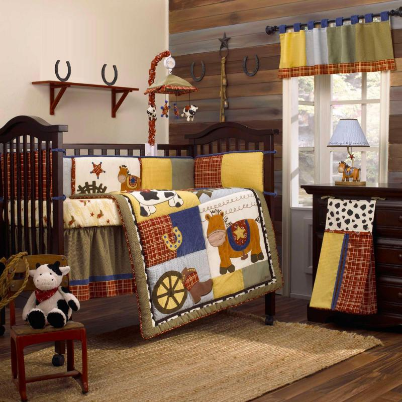 Cowboy Crib Bedding Set | Cool Bedroom Ideas For Boys