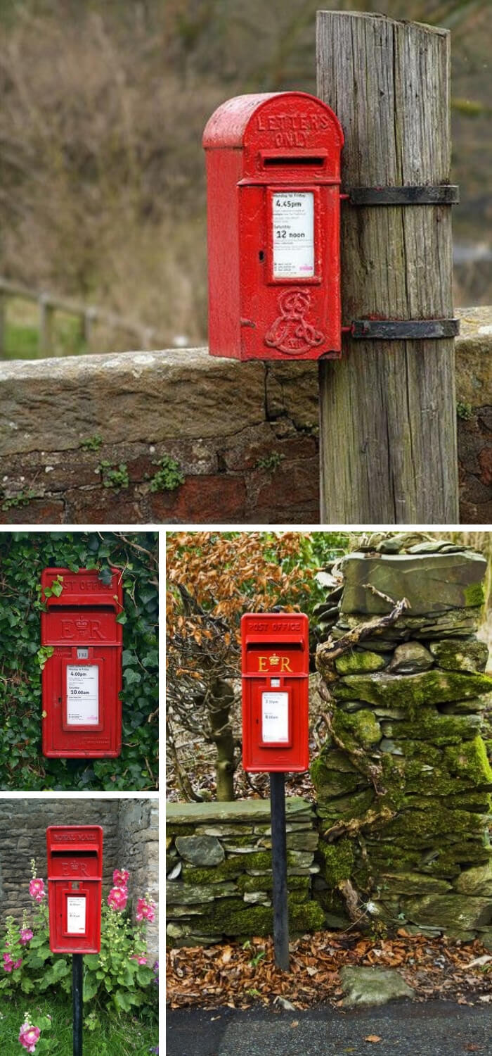 UK style mailbox | Best Mailbox Landscaping Ideas