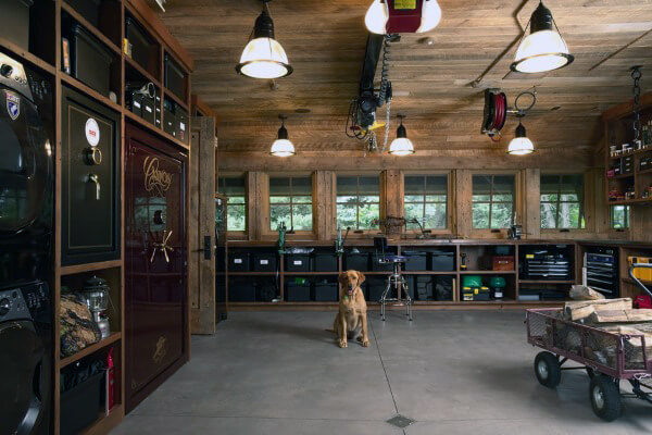 Rustic Pendant Lights For Garage | Best Garage Lighting Designs & Ideas