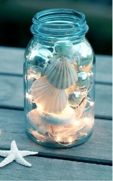 Fairy light in Mason jar | Best Fairy Light Decoration Ideas
