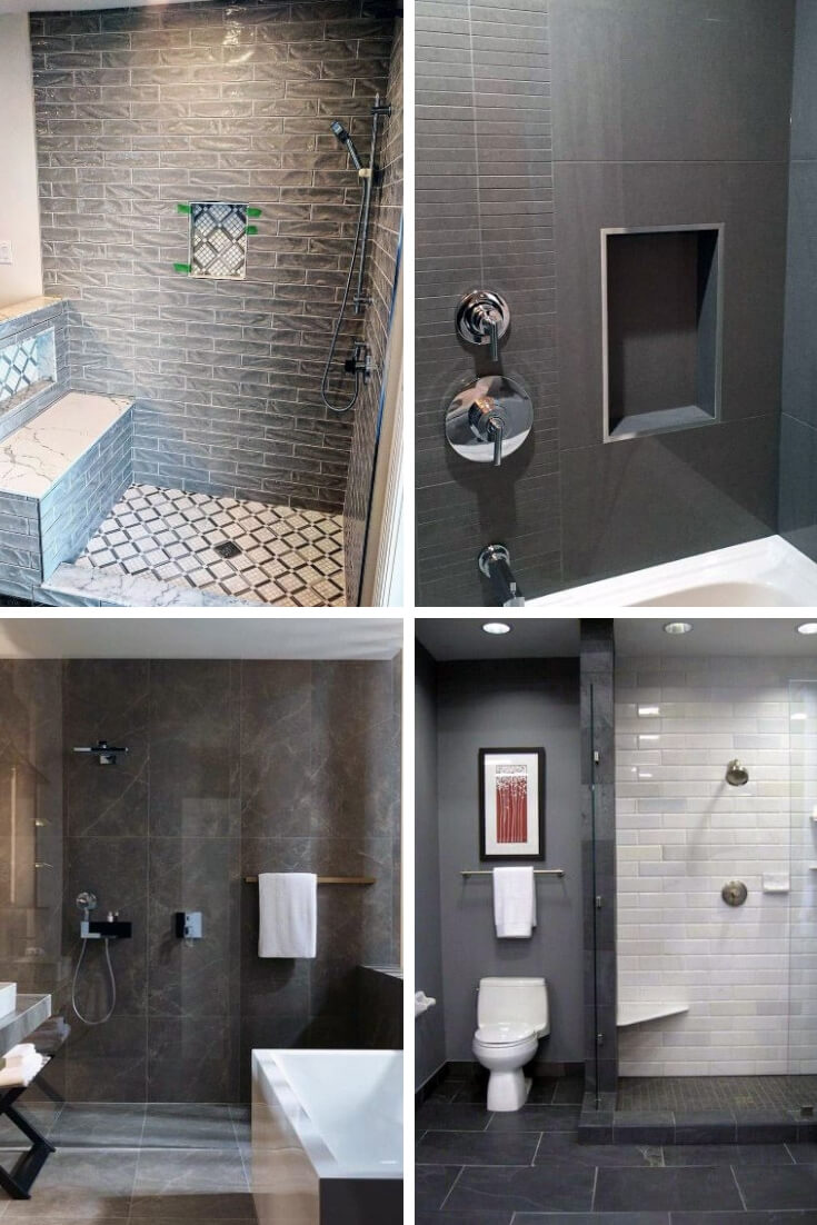 Grey Bathroom Tile Ideas 4 | Bathroom Tile Design: Ideas for Incorporating Tile into the Bathroom Design