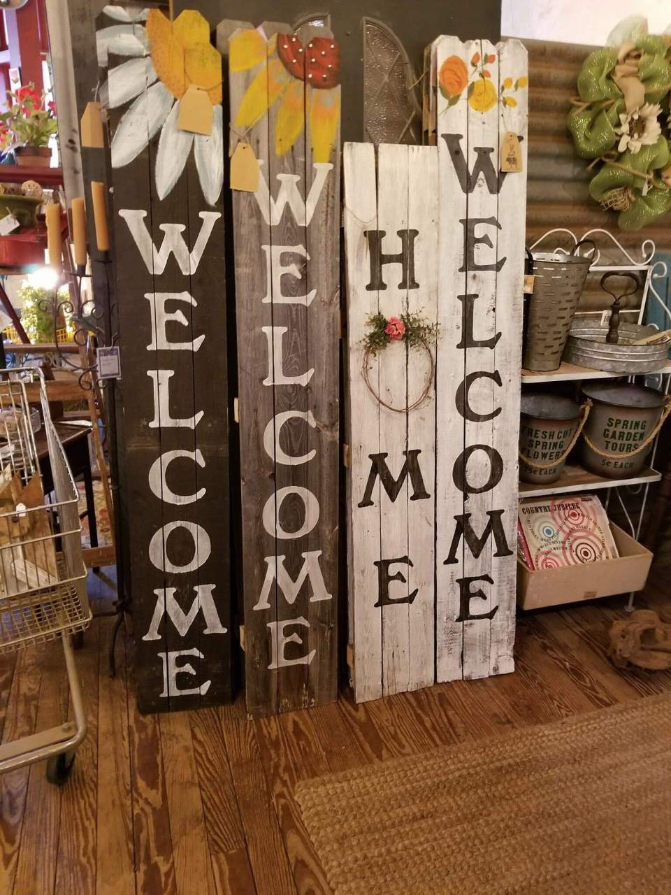 Welcome home sign | Best Spring Porch Sign Decor Ideas & Designs
