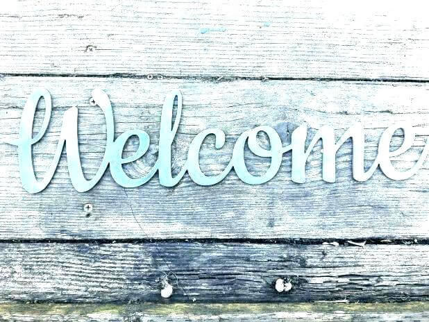 Rustic Welcome Signs | Best Spring Porch Sign Decor Ideas & Designs