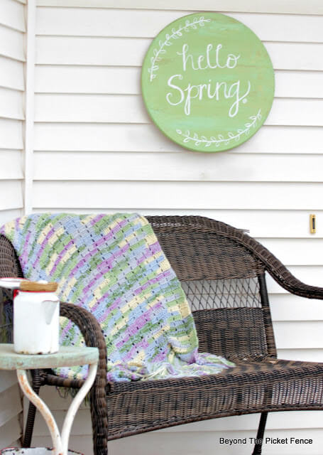 Hello Spring Sign | Best Spring Porch Sign Decor Ideas & Designs