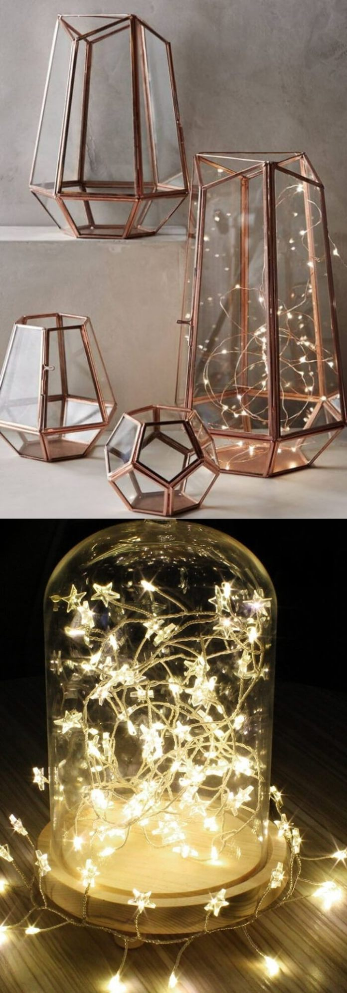 Glow jars | Best Fairy Light Decoration Ideas