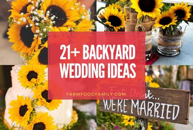 21+ Beautiful Backyard Wedding Ideas For Your Perfect...