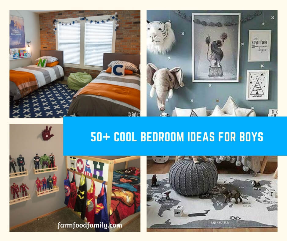50 Cool Teen Bedroom Ideas For Boys Farmfoodfamily