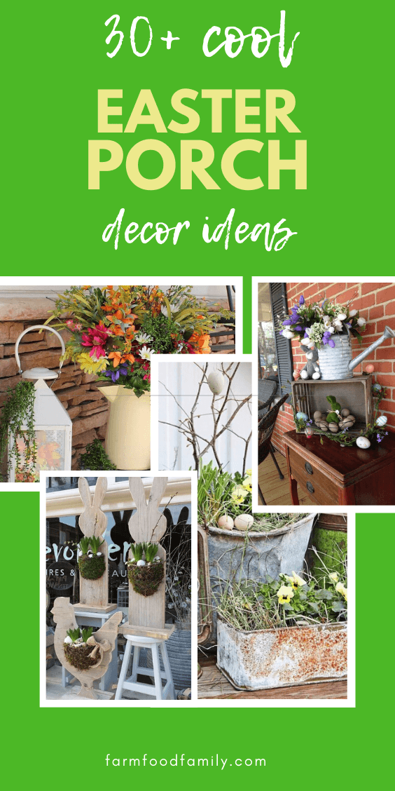30+ awesome Easter Porch Decorating Ideas
