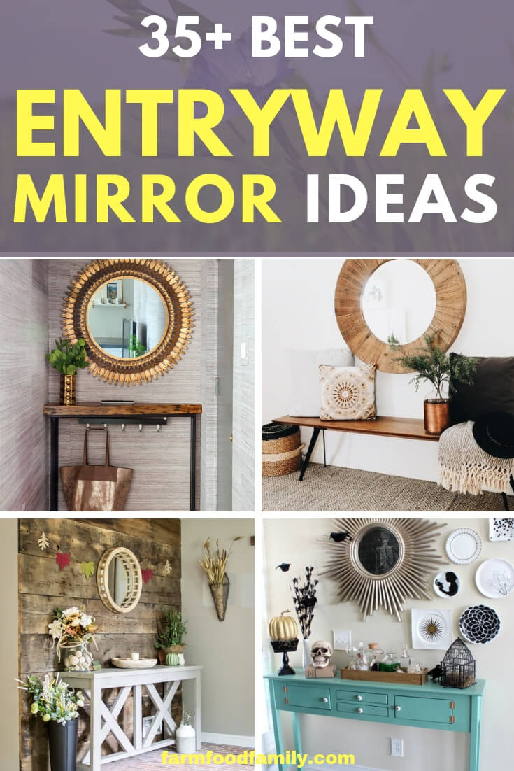 Best Entryway Mirror Decor Ideas