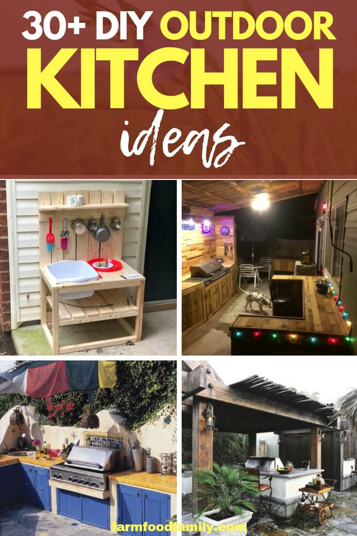 Unique DIY Outdoor Kitchen Ideas (Cheap, Simple, Modern, and Country)