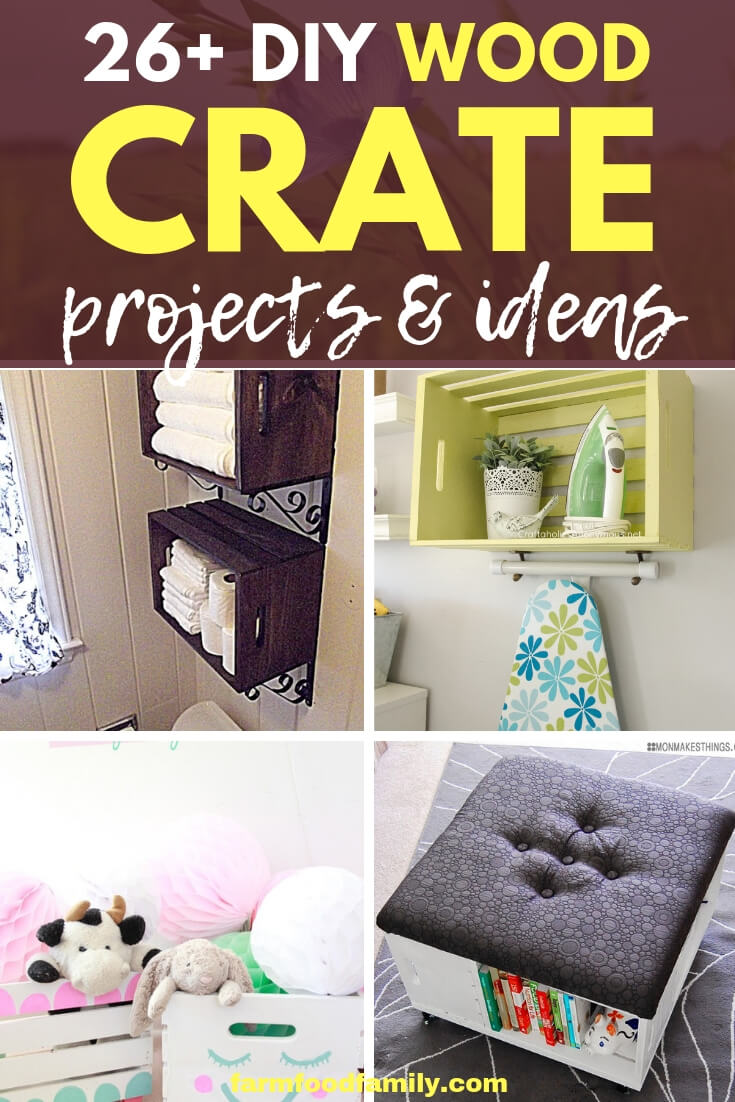 Best DIY Wood Crate Projects & Ideas