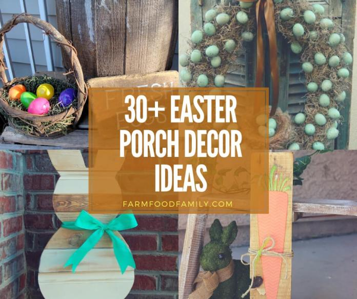 Best Easter Porch Decor Ideas this Spring