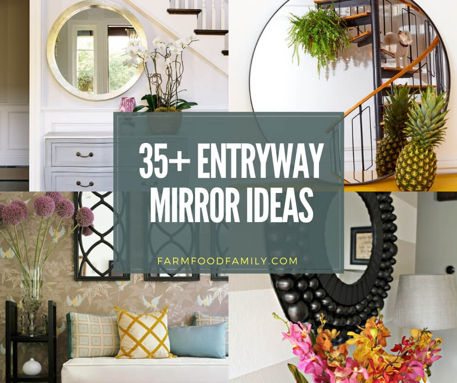 37 Best Small Bedroom Ideas And Designs For 2020: 37+ Best Entryway Mirror Decor Ideas & Designs For 2020