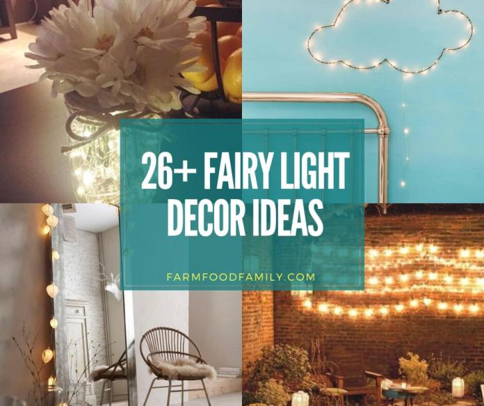 Best fairy light decor ideas