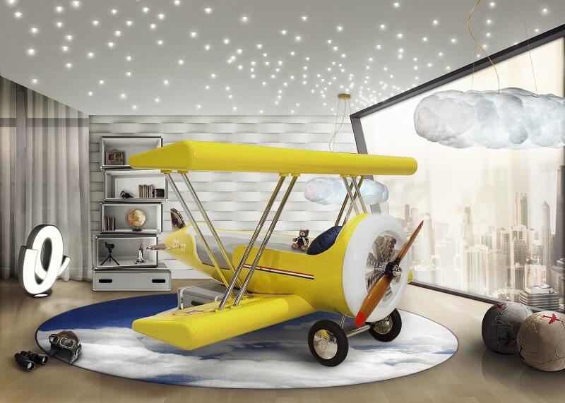 Planes, Trains and Automobiles | Cool Bedroom Ideas For Boys