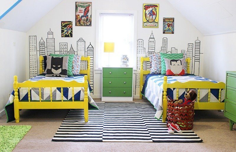 Favorite Characters   Cool Bedroom Ideas For Boys