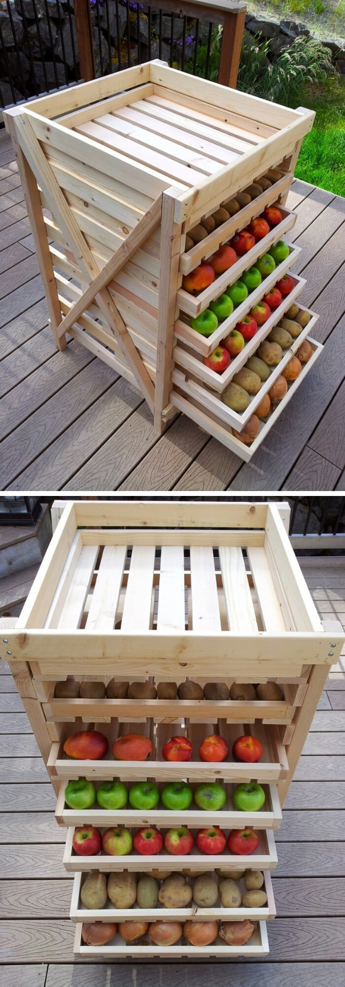 Food storage drying rack | Best Fruit and Vegetable Storage Ideas For Your Kitchen