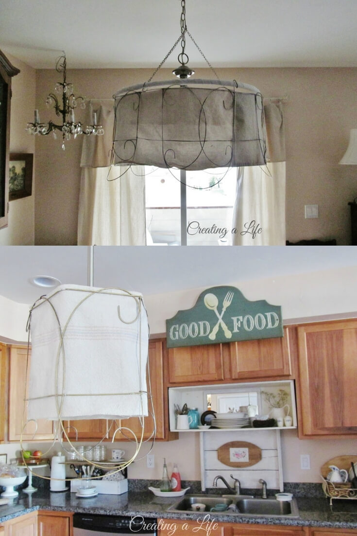 Farmhouse Lighting Designs & Ideas: Farmhouse Style Pendant Light Shades