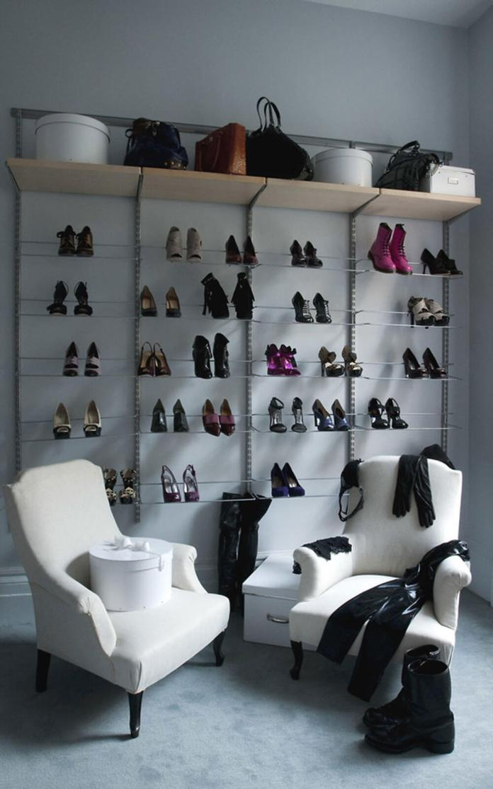 Walk-in-closets | Smart Shoe Storage Ideas & Designs For Any Zoom Size
