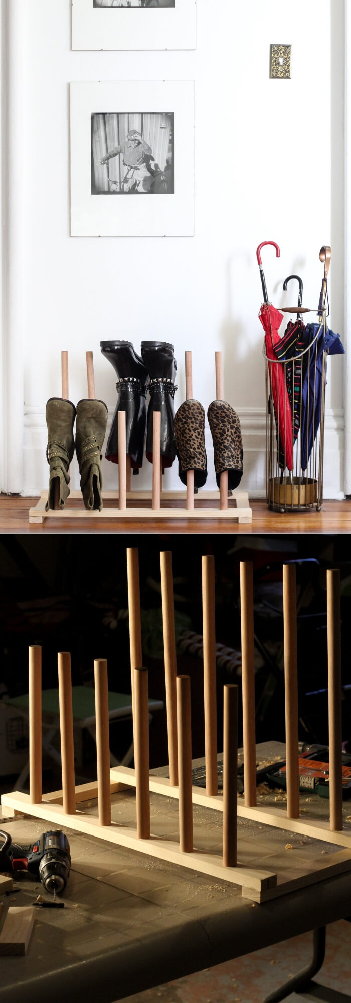 DIY Wooden Shoe Rack | Smart Shoe Storage Ideas & Designs For Any Zoom Size