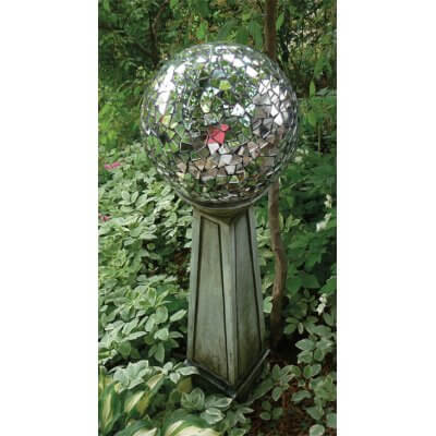 Garden Party Mosaic Mirror Ball | Best DIY Garden Globe Ideas & Designs