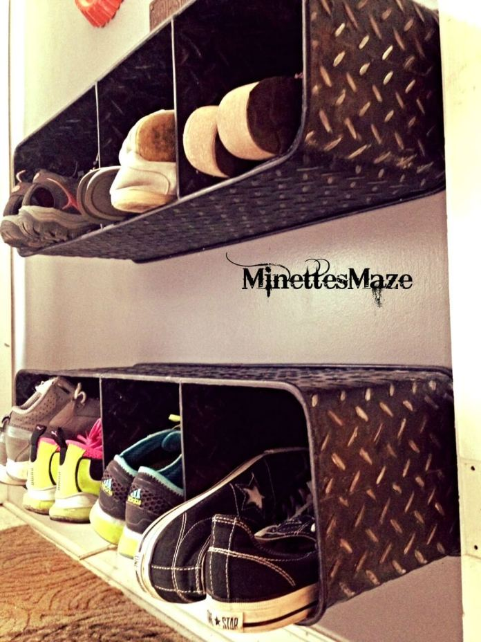 Metal Shoe Shelf | Smart Shoe Storage Ideas & Designs For Any Zoom Size