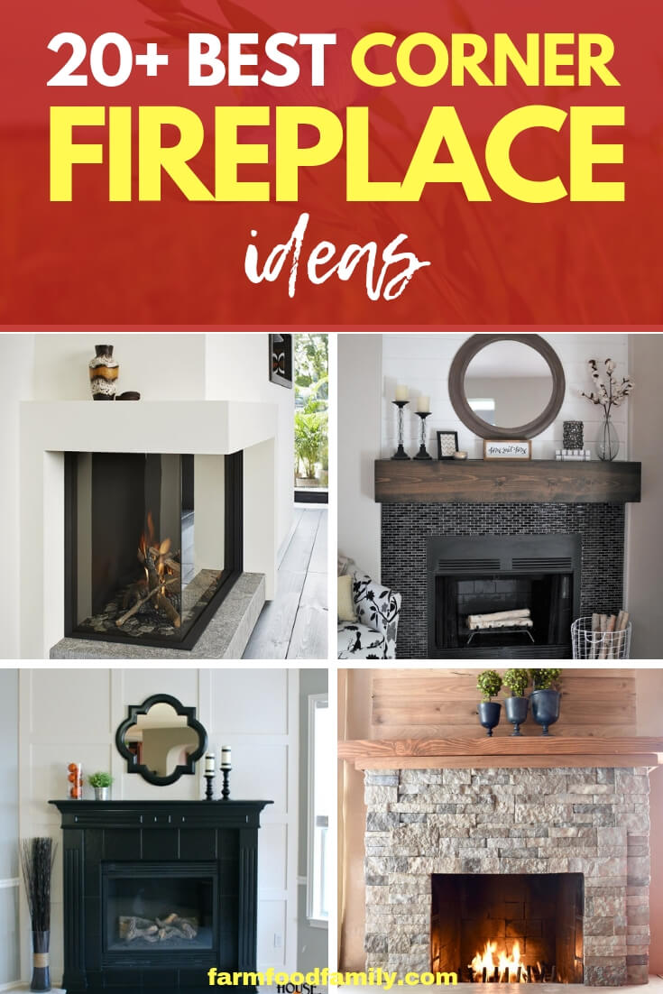 Best DIY Corner Fireplace Ideas & Designs for your home