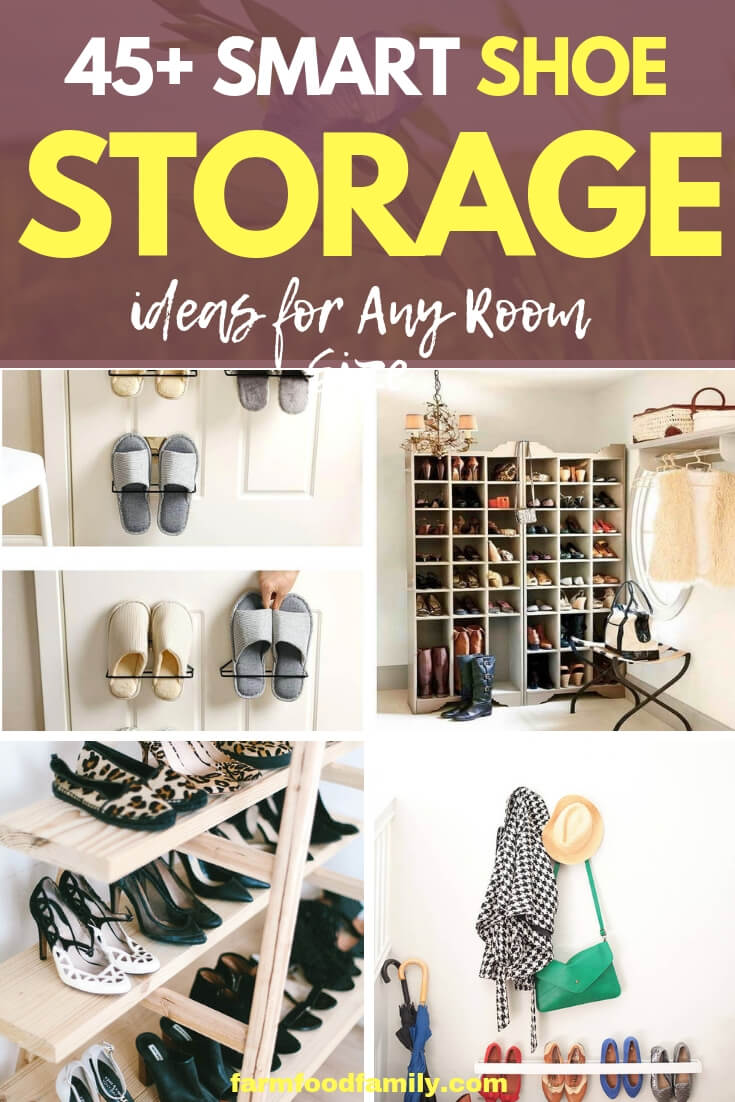 Best Shoe Storage Ideas & Designs For Your House