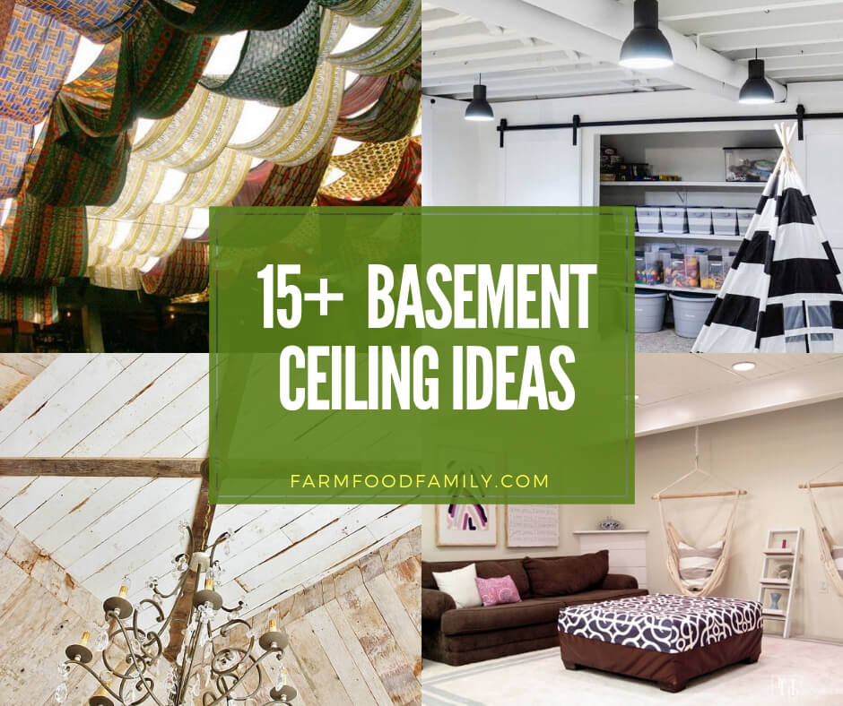 15+ Best DIY Basement Ceiling Ideas & Designs For 2019