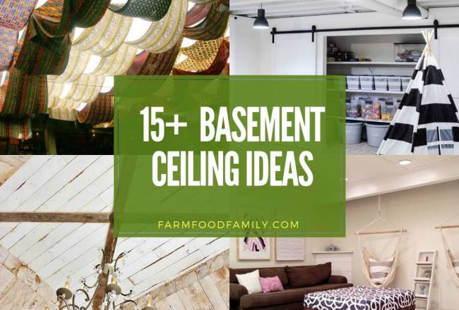These Basement Ceiling Ideas Are Perfect for Your...