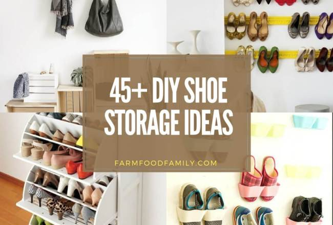 45+ Smart Shoe Storage Ideas for Any Room...