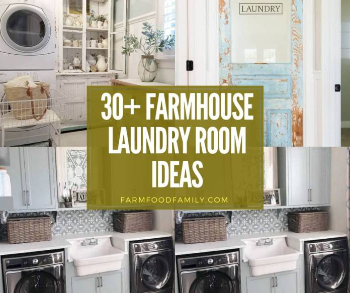 best farmhouse laundry room ideas