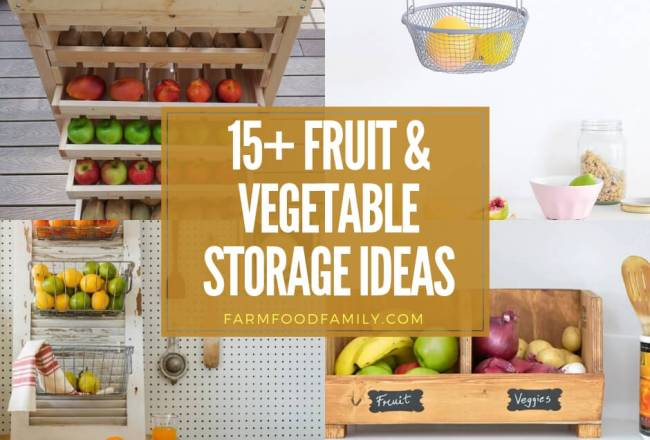 15+ Creative Storage Ideas For Fruits and...