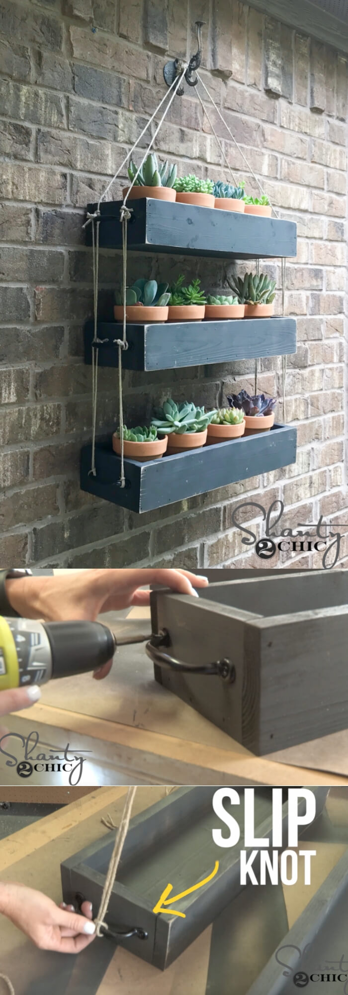 $30 DIY Hanging Planter