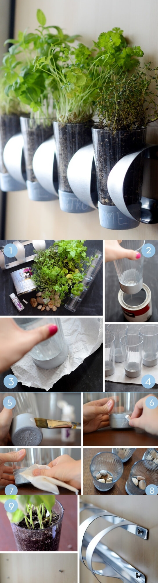 Indoor Herb Garden IKEA Hack