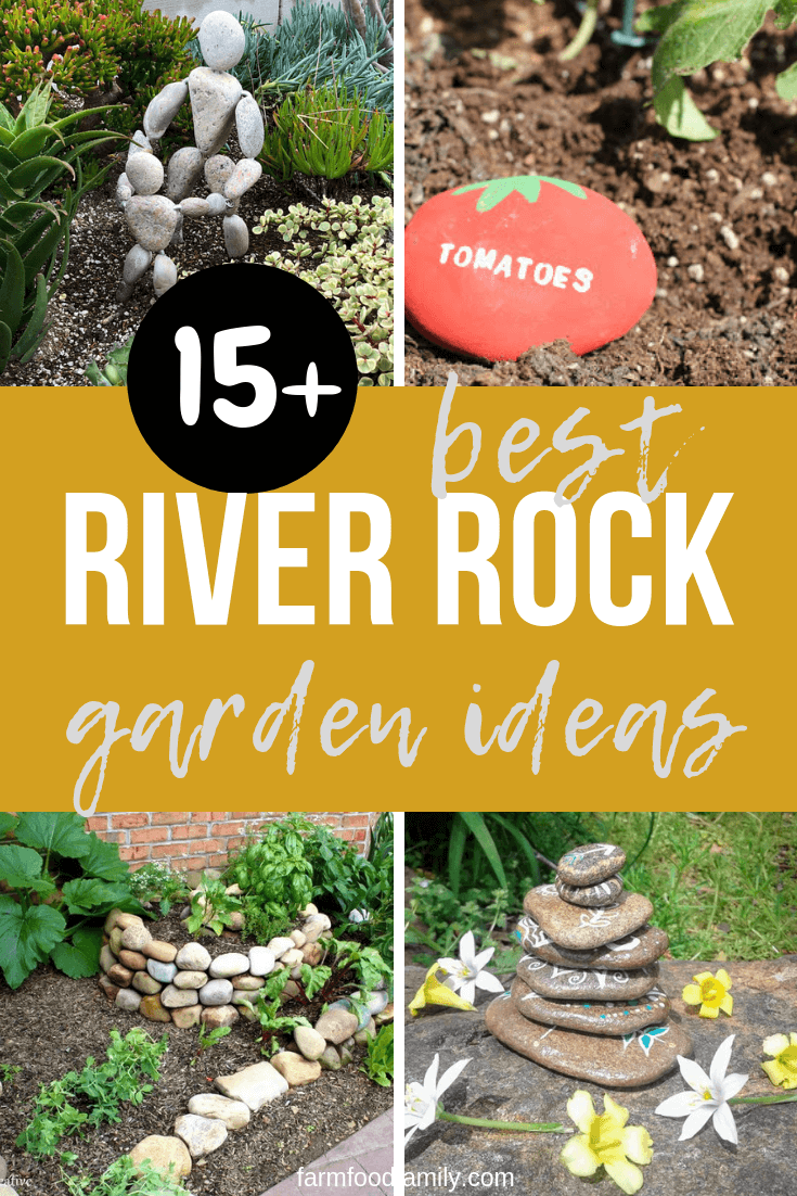 Best river rock and stone ideas & designs