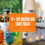 best diy mason jar light ideas