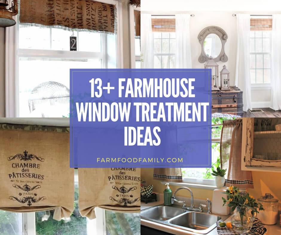 28 Stunning Farmhouse Window Treatment Projects Ideas For 2020