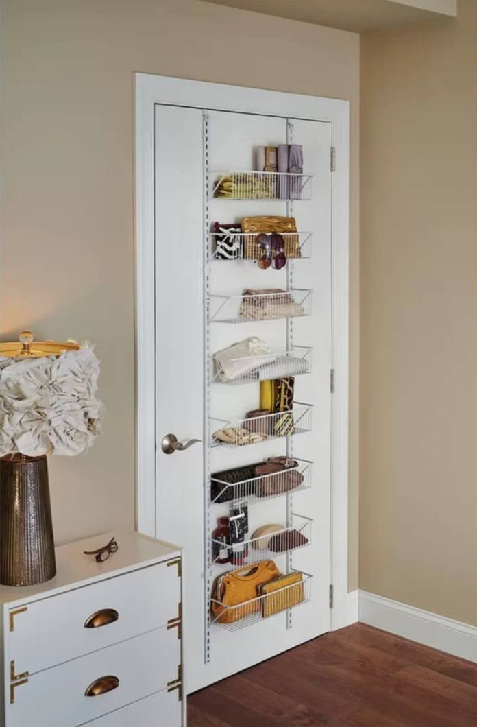 best bedroom organization ideas Hanging Overdoor Organizer