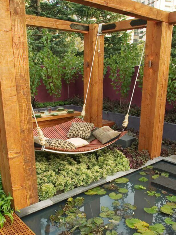 best backyard hammock ideas Suspended Relaxation