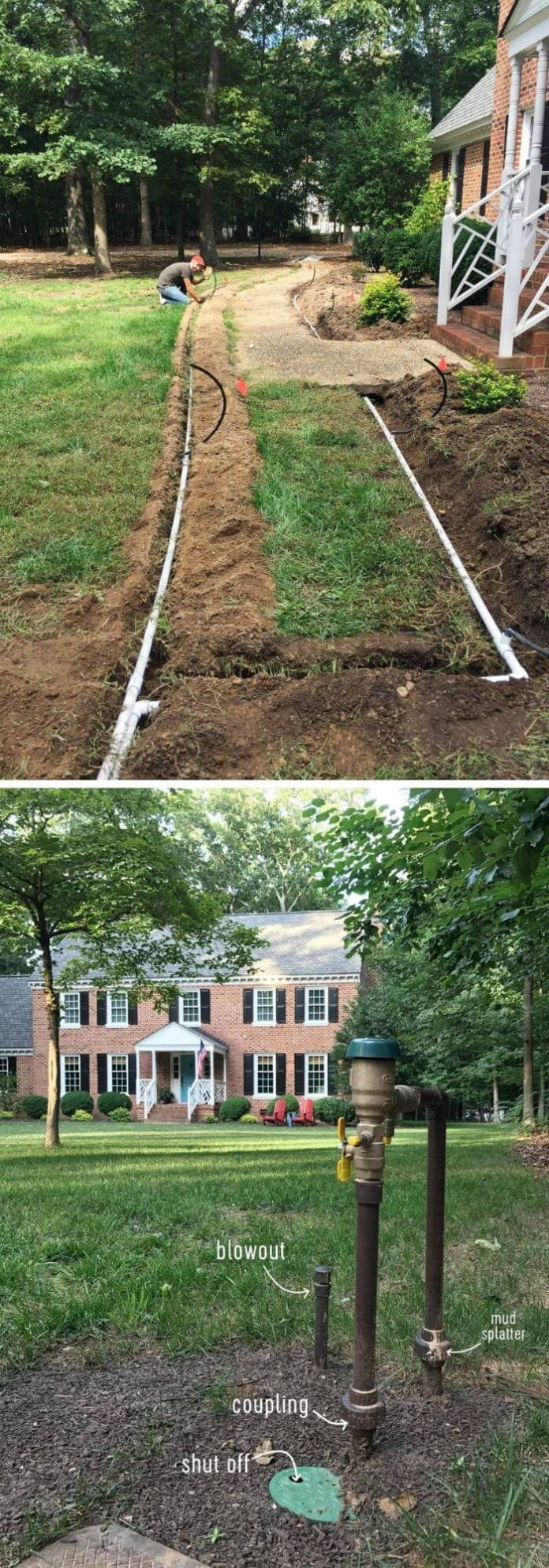 Install an irrigation system