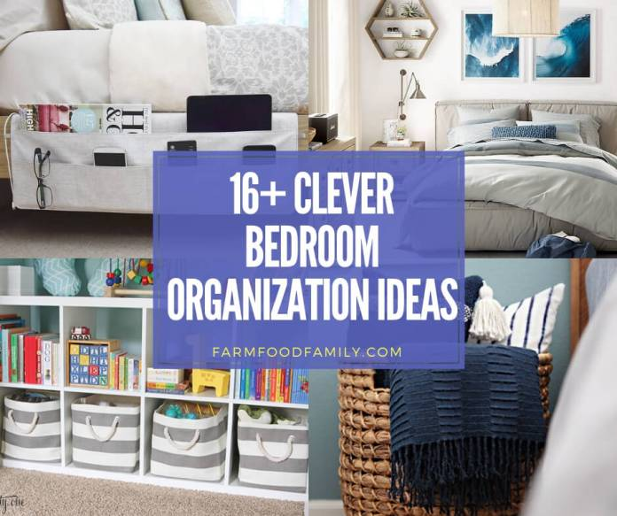 best bedroom organization ideas and designs