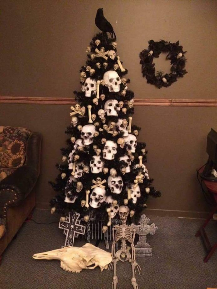 14 Halloween trees for people who already got bored of Christmas