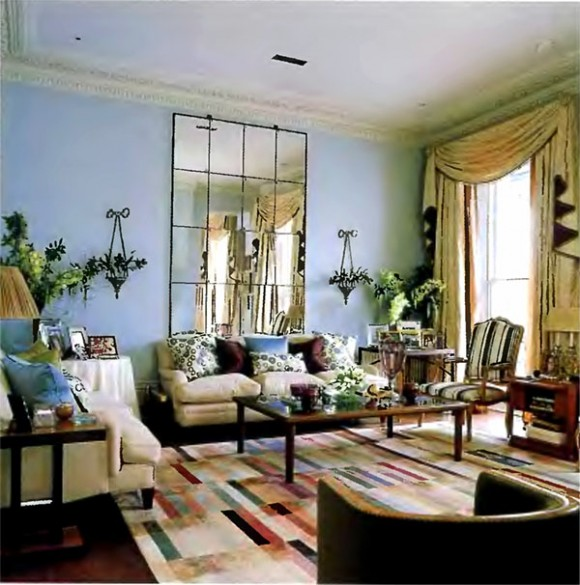 Eclectic interior room design ideas
