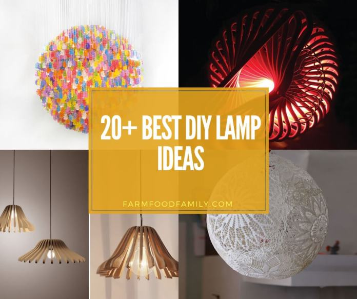 best diy lamp ideas & projects