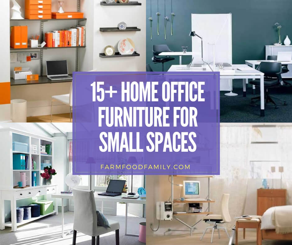 15 Best Home Office Furniture Ideas For Small Spaces 2020